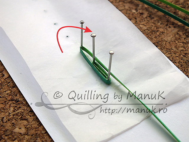 Quilled Grass Tutorial 06