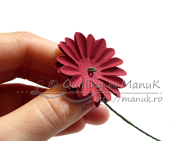 Flower paper quilling ukrandiffusion chrysanthemums stemmed paper flowers tutorial quilling by manuk mightylinksfo