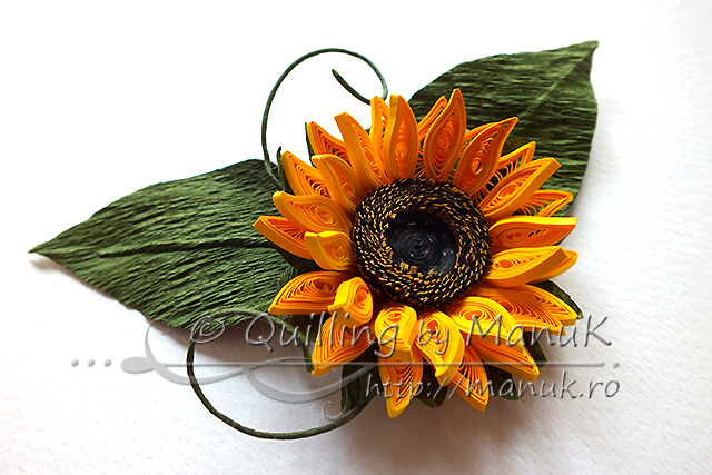 Quilled Sunflowers - Version 2