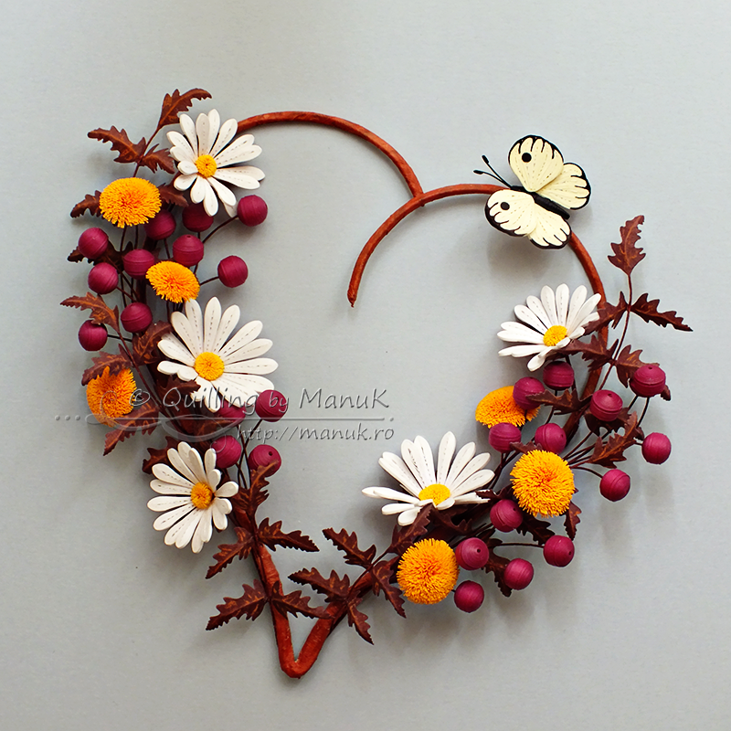 Quilled daisies dandelions and berries flowers in my heart iii flowers in my heart iii quilled daisies dandelions and berries mightylinksfo